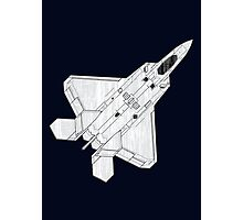 F 22 Stealth Fighter Jet Photographic Print