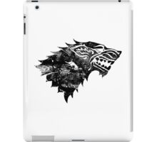 House Stark Black Worn iPad Case/Skin