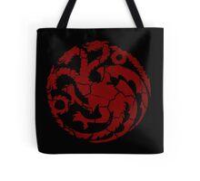 House Targaryen Worn Tote Bag