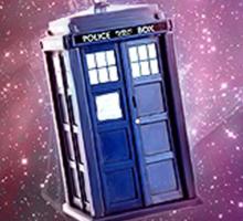 Blue Box nebula Tee Tardis Hoodie / T-shirt Sticker