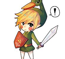 link minish cap kawaii design by zeldalover87