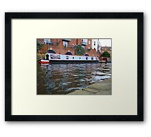 A swell time.... Framed Print