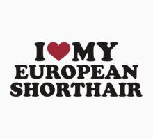 I love my European Shorthair cat by Designzz