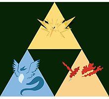 The Legendary Birds Triforce Photographic Print