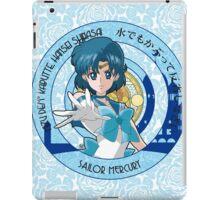 Sailor Mercury - Sailor Moon Crystal (rev. 1) iPad Case/Skin