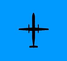 de Havilland Dash-8 Q400 by vidicious