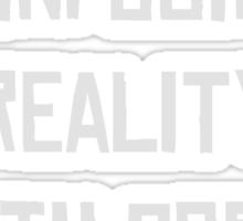 reality with porn Sticker
