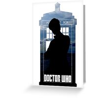 Dr. Who silhouette T-Shirt / Hoodie  Greeting Card