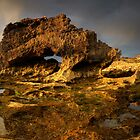 Golden Arch Pan by Robert Mullner