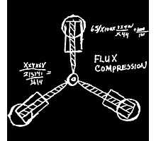 Flux capacitor / Back to the futur ( BTTF ) Photographic Print