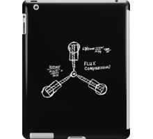 Flux capacitor / Back to the futur ( BTTF ) iPad Case/Skin