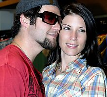 Bam Margera and wife Missy by Bill Fonseca