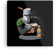 Most Interesting Knight in the World Metal Print