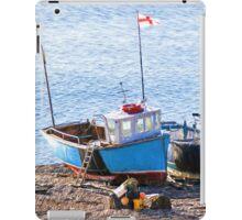 Boats At Beer - Impressions iPad Case/Skin