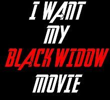 Black Widow Movie Sticker  by lokibending