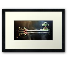 100 Acre Keyblade Framed Print