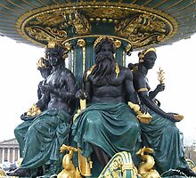 La Fontaine des Mers  by coffeebean