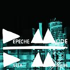 Depeche Mode : Delta Machine Paint cover - Invert by Luc Lambert