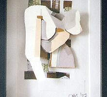 Self: Paper Bust, 2006 by Annie van Limbeek
