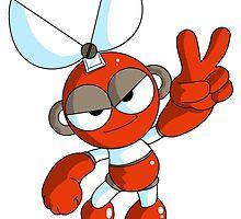 Megaman Robot Master - Cutman by joseph keen