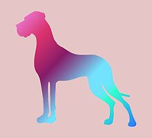 Gradient Great Danes by Doggenhaus