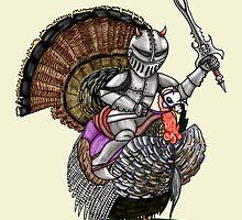 Knight turkey by squigglemonkey