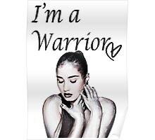 Demi Lovato Warrior Poster