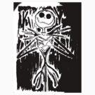 Skeleton - Torn Edges by Sarah Bentvelzen