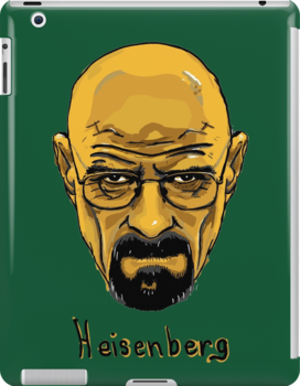 Walter White - Heisenberg - Breaking Bad - T Shirt and more by ptelling