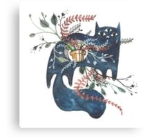 Bane - Feline Terrarium Canvas Print