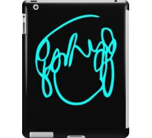 Scott Pilgrim VS the World - Have you seen a girl with hair like this...Ramona Flowers BLUE iPad Case/Skin