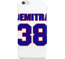 National Hockey player Pavol Demitra jersey 38 iPhone Case/Skin