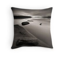 Beach, Rocks and Water II Throw Pillow