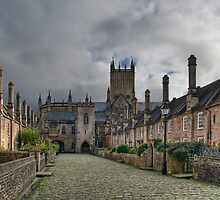 Vicars Close. Wells, England by Ann Garrett