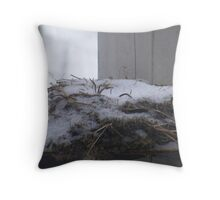 winters nest Throw Pillow