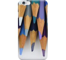 Caran D'Ache Colored Pencils iPhone Case/Skin