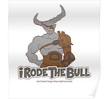 Riding the Bull Poster