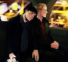 Sherlock Cab Ride by krusca