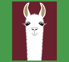 LLAMA PORTRAIT #3 Kids Clothes