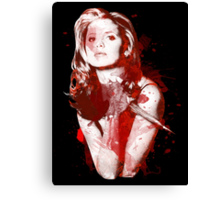 Splatter Buffy Canvas Print