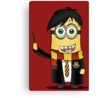 Minion Harry Potter Canvas Print