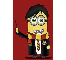 Minion Harry Potter Photographic Print