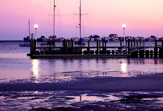 Gulfport Sunset by Ginny Schmidt