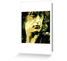 The Legend Jimmy Page Greeting Card