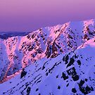 Watsons Crag Sunset by Travis Easton