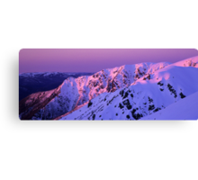 Watsons Crag Sunset Canvas Print