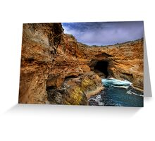 Great Ocean Road Series - Thunder Cave (Lower View) Greeting Card