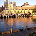 Docks on the rocks by Tracy A Smith