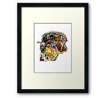 untitled head Framed Print