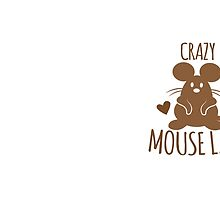 CRAZY Mouse Lady by jazzydevil